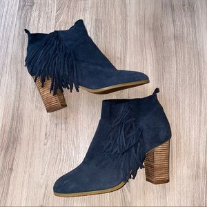 Crown Vintage Suede Booties